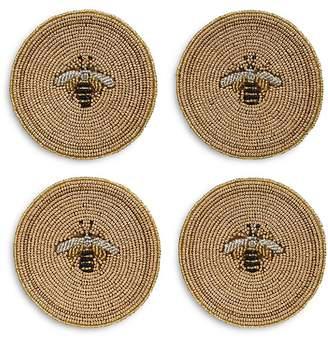 Joanna Buchanan Stripe Bee Coaster, Set of 4
