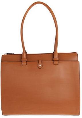 Lodis Audrey Jessica Grain Leather Work Satchel $298 thestylecure.com