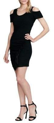 Jessica Simpson Cold-Shoulder Bodycon Dress