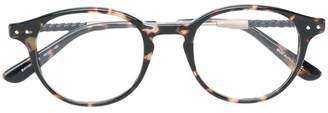 Bottega Veneta round frame glasses