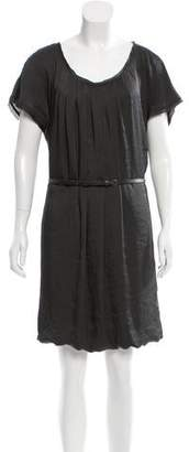Marc Cain Short Sleeve Satin Dress