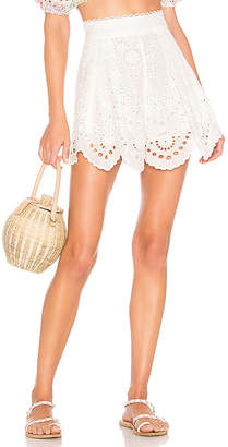 Zimmermann Bowie Scallop Short