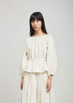 Molly Goddard Marion Top Ivory