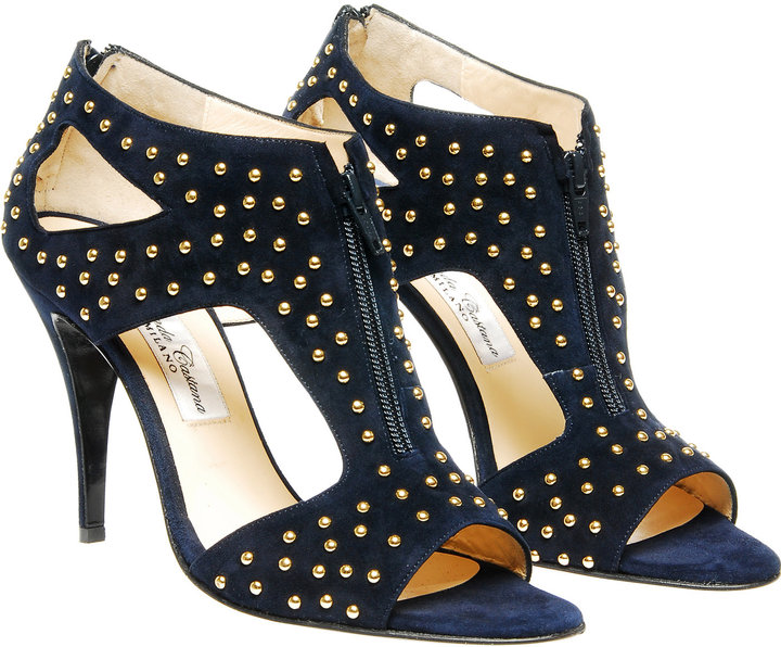 Bionda Castana Studded suede sandal