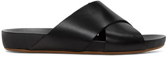 ATP Atelier Black Doris Sandals $285 thestylecure.com