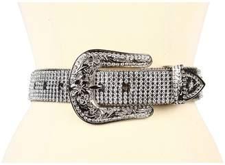 M&F Western Crystal Concho Rhinestone Belt Women's Belts