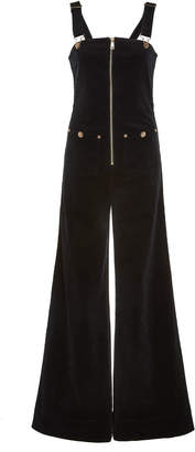 Alice McCall Quincy Zip Detail Cotton Overalls