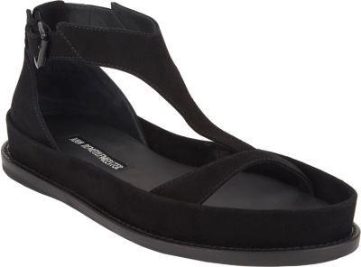 Ann Demeulemeester Sculpted T-strap Sandals
