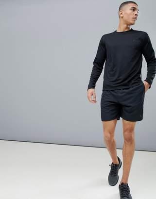Polo Ralph Lauren Runner Shorts Back Zip Pocket In Black