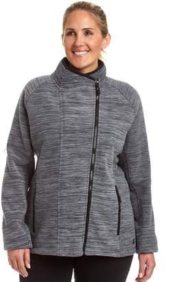Champion Plus Size Sherpa-Lined Fleece Jacket