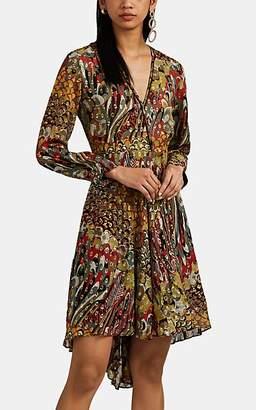 12738844d04 at Barneys Warehouse · Zadig   Voltaire WOMEN S FLORAL SILK FIL COUPÉ DRESS  ...
