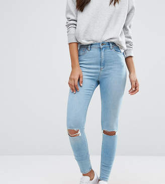 Asos Tall TALL RIDLEY Skinny Jean In Felix Wash