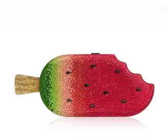 Judith Leiber Couture Watermelon Popsicle Crystal Minaudiere