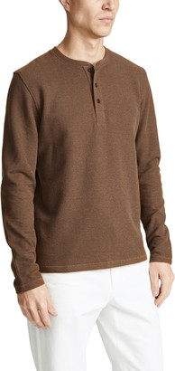 Billy Reid Brushed Henley