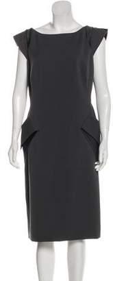 Giorgio Armani Midi Short Sleeve Dress