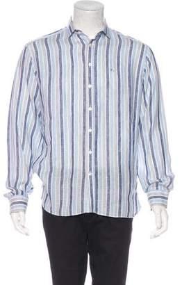 Burberry Striped Linen Shirt