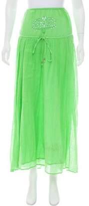 Calypso Broderie Anglais Maxi Skirt