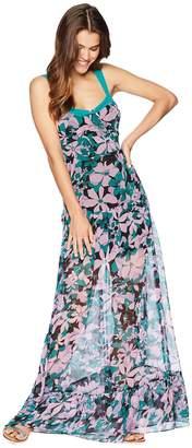 For Love & Lemons Maritza Floral Maxi Dress Women's Dress