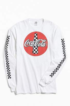 Urban Outfitters Checkered Coca-Cola Long Sleeve Tee
