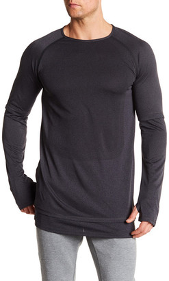 PUMA Stampd Mesh Long Sleeve Tee $90 thestylecure.com