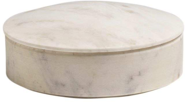 Medium Lens Marble Box With Lid