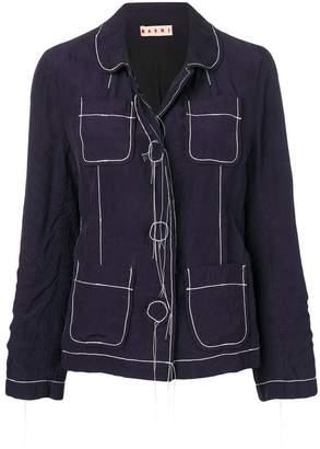 Marni stitch detail jacket