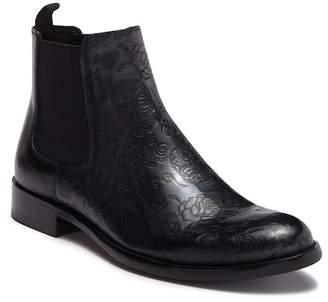 Robert Graham Dawson Embossed Chelsea Boot