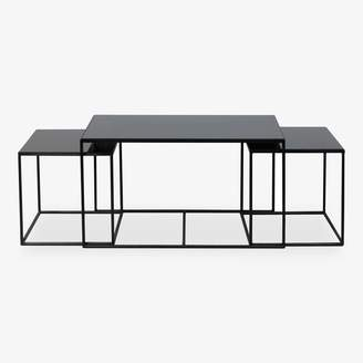 Reflect Nesting Coffee Tables Charcoal Online Only
