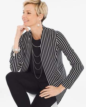 Chico's Striped Knit Jacket