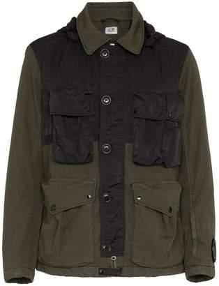 C.P. Company hooded goggle jacket