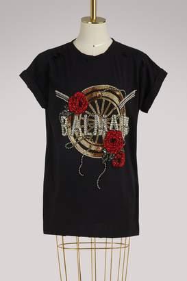 Balmain Oversized logo T-shirt