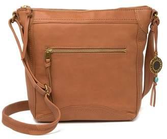 The Sak Tahoe North South Leather Crossbody Bag