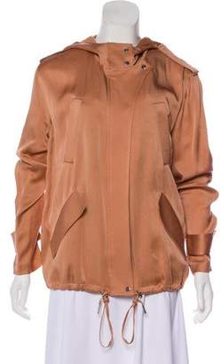 A.L.C. Hooded Lightweight Jacket