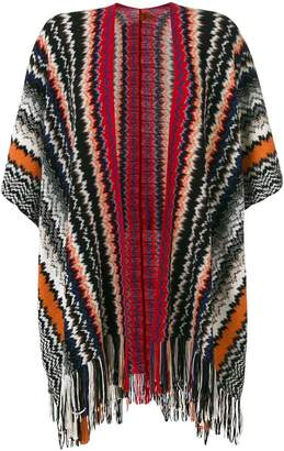Missoni Mantella knitted poncho