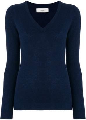 Pringle cashmere knitted v-neck jumper