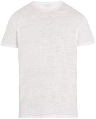 Etro Crew-neck linen-jersey T-shirt