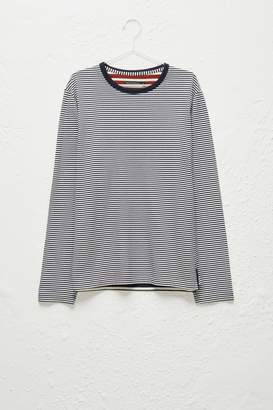 French Connenction Odd Stripe Crew Neck T-Shirt