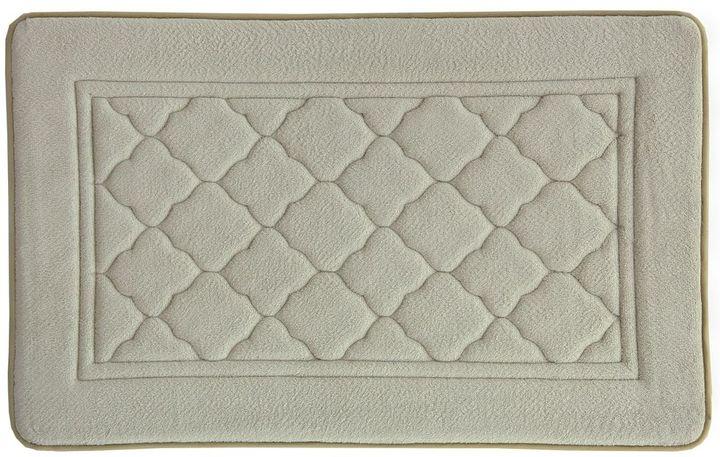 BacovaBacova Florence Antimicrobial Memory Foam Bath Rug - 20'' x 32''