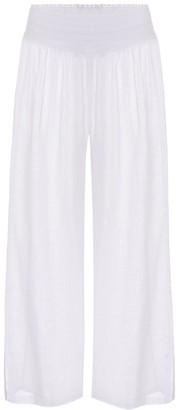 Heidi Klein Seychelles cotton culottes