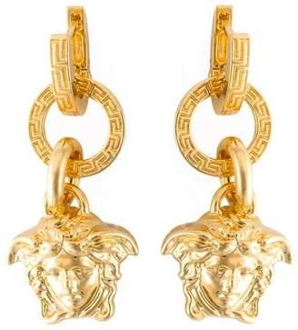 Versace Medusa pendant earrings