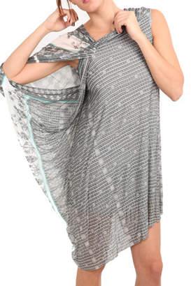 Yigal Azrouel Printed VJ Dress