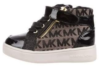 Michael Kors Girls' Logo Sneakers