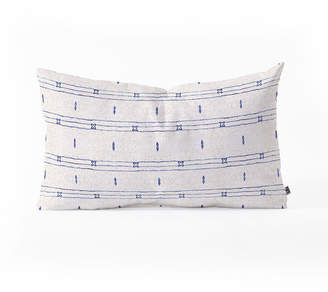 Deny Designs Holli Zollinger FRENCH STRIPE Oblong Throw Pillow