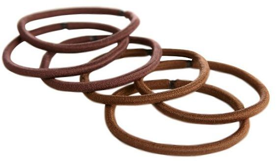 Goody® ColourCollectionTM Ouchless® Elastics Brunette 10 Pack