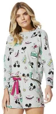 Disney Mickey Mouse Boom Slogan Short Pyjamas 20-22