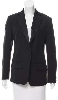 Derek Lam Wool Notch-Lapel Blazer