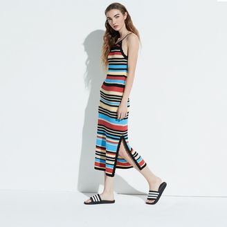 K/lab Striped Knit Maxi Dress $68 thestylecure.com