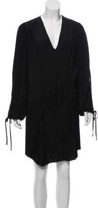 A.L.C. Pleated Silk Dress
