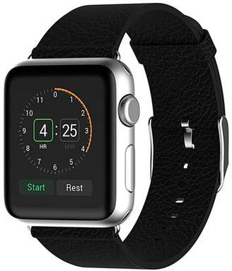Buffalo David Bitton Beikel Apple Watch 3 38mm Leather Strap Wrist Band Replacement with Metal Clasp for Apple Watch Series 1 2 and 3