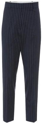 Racil Aries striped stretch wool pants